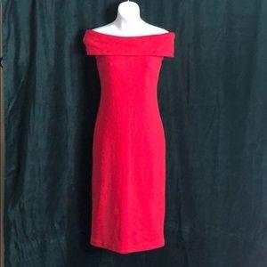 Vintage 80's body con dress